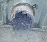 clogged dryer vent 1
