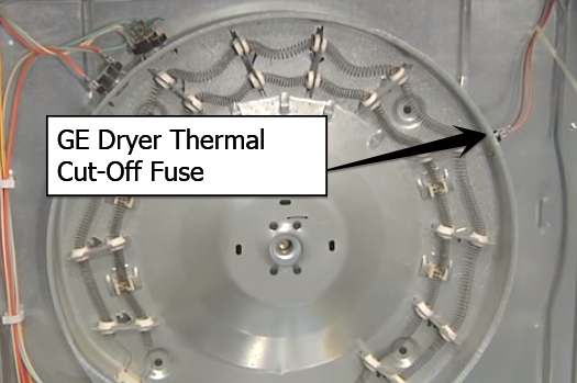 ge dryer thermal cutoff fuse