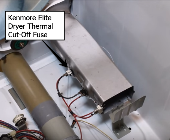 kenmore elite dyer thermal cutoff fuse