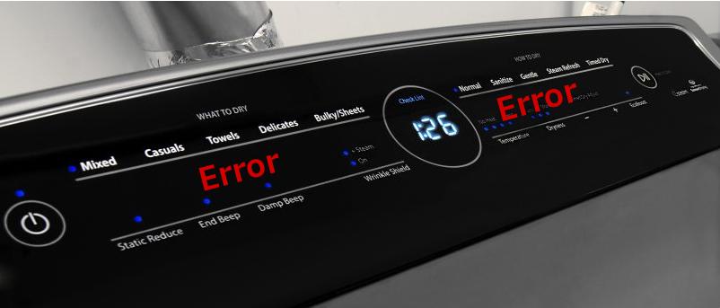 Whirlpool Cabrio Error Codes List Amp Explanation